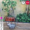 Antique Handmade Hanging Rustic Planter