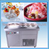 High Quality Thailand Fry Ice Cream Machine with Good Compressor