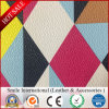 Geometric Pattern PVC Leather for Handbags Shoes Artificial Leather Cloth and Sofa Car Seat Hot Sales New Design