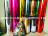 Metalized PVC Colorful Film for Christmas Decoration
