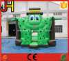 Green Frog Inflatable Bouncer Frog Inflatable Jumping Bed Bouncer