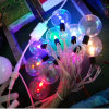 Newest Holiday Lighting Bulb Transparent LED Ball String Lights