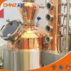 Steam Heating Copper Alcohol Distillation Tower Vodka Whiskey Still Equipment