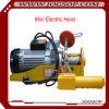 Mini Electirc Wire Rope Hoist Small Overhead Crane Capacity 200