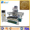 Three Processing Wood Cabinet Engraving Router Machine Good Price