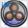 8.7KV 15KV Underground Steel Wire Armored Electrical Wire Cable