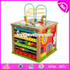New Design Activity Cube Wooden Kids Science Toys for Education W11b143