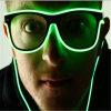 Sound Activated EL LED Sunglasses