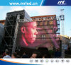 HD Outdoor P10 LED Curtain Display Screen