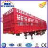Heavy Duty Tri-Axle Livestock & Farm Goods Carrier Stake Truck Semi Trailers