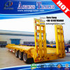 Shock Price Tri-Axle 60tons Platform Low Bed Semi Trailer for Sale