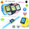 3G WiFi GPS Watch Tracker with Rotating 2.0m Camera (D18)