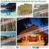 Tropical Island Style Synthetic Resin Thatch Plastic Thatch