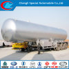 Factory Direct Sale 30cbm to 60cbm LPG Transport Semi Trailer