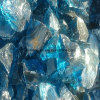 Crushed Colored Glass Rock Wholesale