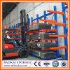 Industrial Steel Pipe Storage Racks, Warehouse Storage Frame Cantilever Racking