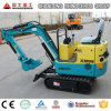 Digging Machine 800kg Mini Excavator Rubber Crawler