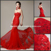 Red Wedding Dress Lace Mermaid Real Photos Bridal Wedding Gown H131009