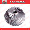 OEM Casting Machining Cast Iron/Stainless Steel Water Pump Impeller