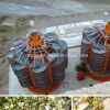 Alluvial Gold Ore /Placer Gold Ore Spiral Chute