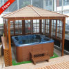 3 X 3m Outdoor Garden Steel Gazebo, Powder Coating Finish, UV-Resistant, OEM Order Are Accepted