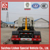 8000L Diesel Engine Hook Arm Garbage Truck