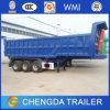 3axles 12wheels Dump Tipper Trailer 50ton Tipping Trailer for Trucks