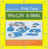 Wm Tarps 9X12 Feet 8-9mil Multi-Purpose All Weather Tarp