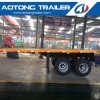 20 FT Container Transport Flatbed Semi Trailer