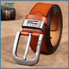 Fashion Men Genuine Leather Belts with Reversible Buckle