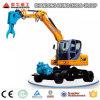 8ton Wheeled Crawler Excavator Excavation Machines Compact Excavator for Rental