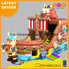 Inflatable Viking Pirate Boat with Slide (AQ01749)