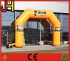 Attractive Inflatable Arch, Yellow Advertising Inflatable Arch for Promotion