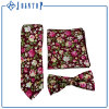 Good Quality Custom Colorful Flower Cotton Necktie Sets