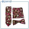 Good Quality Custom Colorful Flower Cotton Necktie Sets