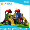 Plastic Slide Type Plastic Swing and Slide Kids Outdoor Playground (FQ-18301)
