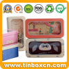 Metal Window Tin Case for Pencil Box Stationery Packaging