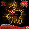 2017 Holiday Lamp Artificial LED Christmas Decoration 2D Reindeer Motif Light for Outdoor