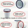 Funnel Shape Enamel Coffee Cup V Cup 300ml