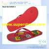 Women Shoes PE Flip Flops Heat Transfer Printing
