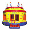 Birthday Cake Jumping Castle Bounce House for Kids Playing