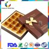 High Quality Factory Customzied Paper Chocolate Box with Paper Inlay Lip and Base Box