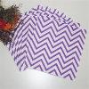 Purple Chevon Pattern Napkin for Birthday Party