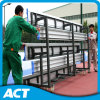 China Manufacturere of Tip and Roll Soccer Bench / Sports Bench / Gym Bleacher