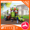 2016 Guangzhou Daycare Children Outdoor Playground Tunnel Slides