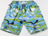 Oeko-Tex Full Waist Polyester Patterned Men Board Short Swimwear