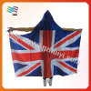 Union Jack Body Flag with Hood for Cheering