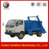 4m3, 4cbm, 4 Cubic Meter Swing Arm Garbage Truck