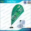 Tear Drop Shape Desk Flag/Table Flag (T-NF09M03012)
