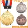 Custom Gold Plated with Double-Sided Printing Logo Souvenir Medals (YB-LY-C-29)